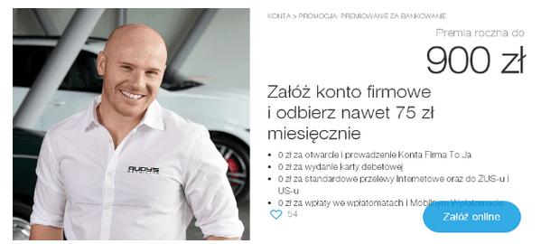 idea bank konto firmowe za 900 zl